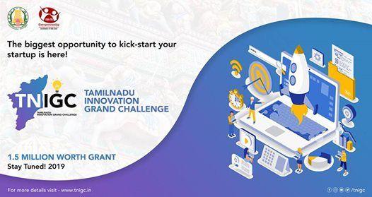 Tamil Nadu Innovation Grand Challenge 2019 - Sprint