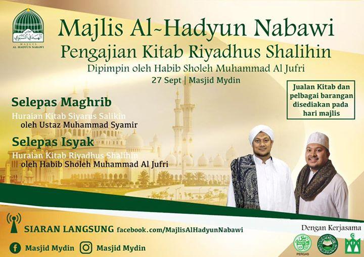 Majlis Al-Hadyun Nabawi Yang Ke-23