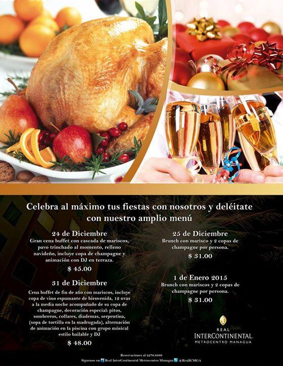 Cena de fin de a o at restaurante voltes managua - Restaurantes para fin de ano ...