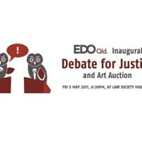Debate for Justice &amp Art Auction