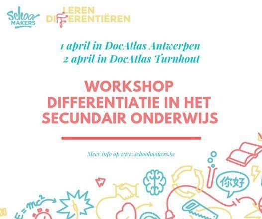 Workshop differentiatie in het secundair onderwijs (Antwerpen)