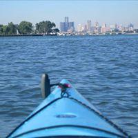 Kayaking on Belle Isle