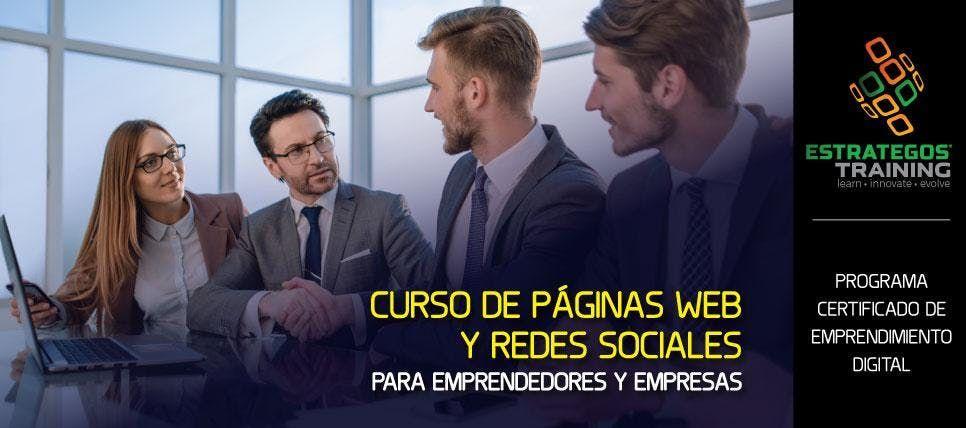 CURSO DE PGINAS WEB Y REDES SOCIALES PARA EMPRENDEDORES Y EMPRESAS - CALI