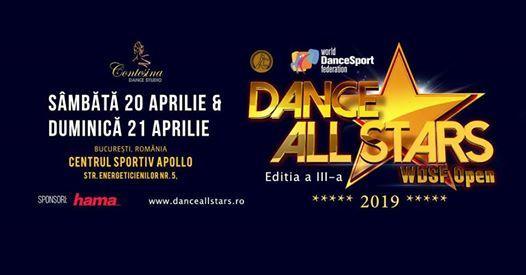 DANCE ALL STARS - WDSF Open 2019  Bucharest Romania