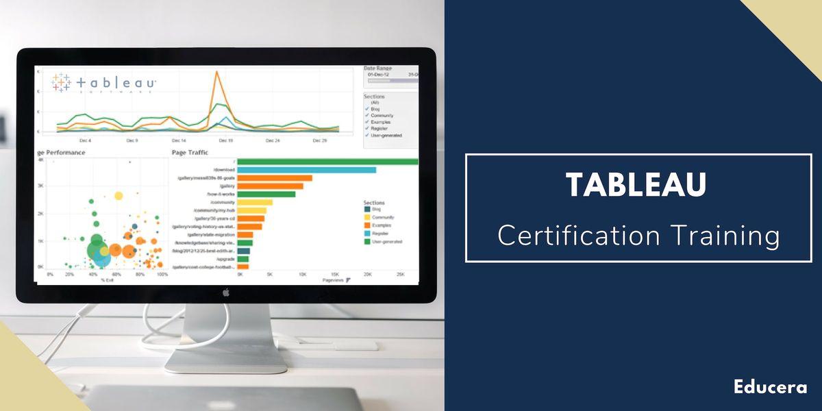 Tableau Certification Training in Augusta GA