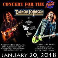 Concert for the Cogs featuring Damon Johnson