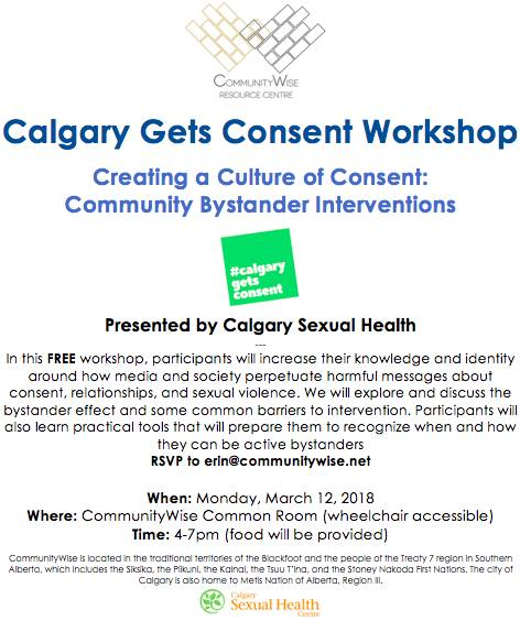 Community centres calgary sexual health