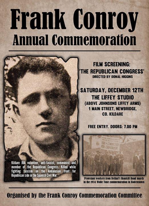 Annual Frank Conroy Commemoration