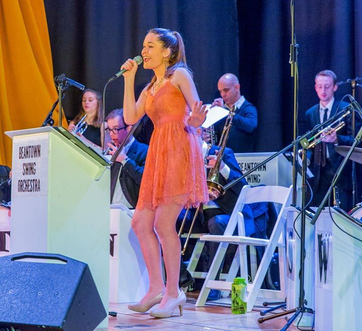 February Uptown Swing Dance With Beantown Swing Orchestra At
