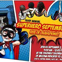 Superhero September Rise of Champions Super Main Event