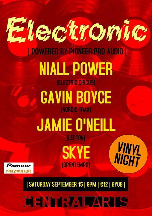 Electronic - Vinyl Night