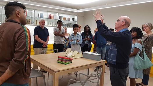 Use the new Jack Ginsberg Centre for Book Arts for teaching