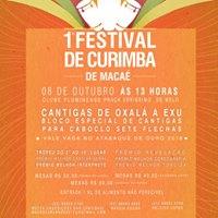 1 Festival de Curimba de Maca
