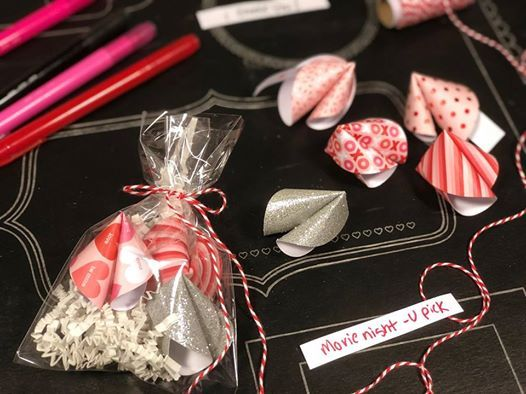 Fortunes For Your Sweetie Free Make Take At Craft Warehouse