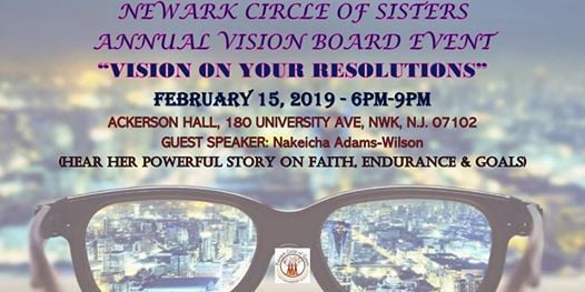 Newark Circle of Sisters Annual Vision Board Event