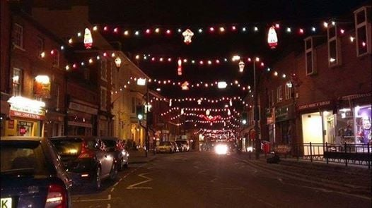 Newport Pagnell Christmas Lights