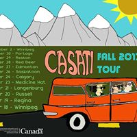 Casati Fall Tour Kickoff w Sun Gaze