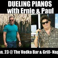 Dueling Pianos w Ernie &amp Paul VODKA BAR &amp GRILL- Naples