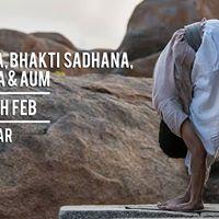 Yogasanas Bhakti Sadhana Isha Kriya &amp AUM - 24-25th Feb