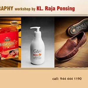 Product and Tabletop Photography Workshop by KL Raja Ponsing
