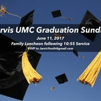 Jarvis UMC Graduation Sunday &amp Luncheon