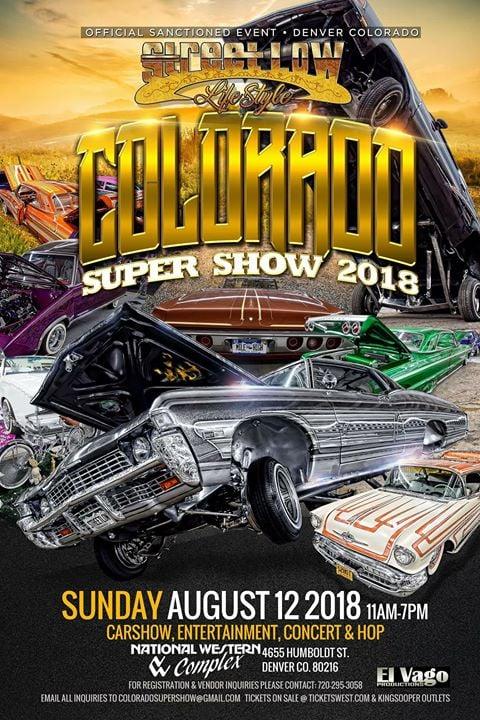 StreetLow Colorado Super Show At National Western Complex Denver - Lowrider car show los angeles 2018