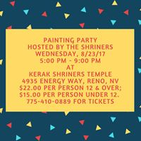 Shriners Painting Party