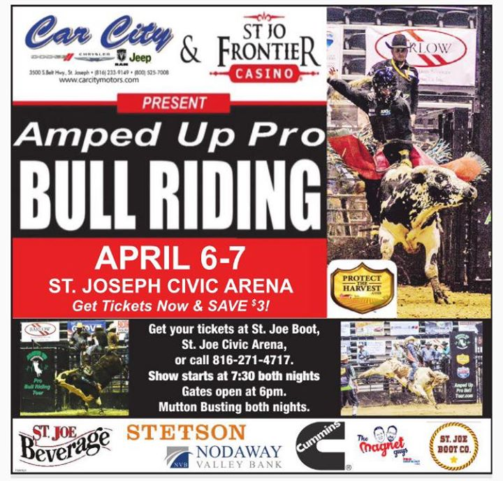 Amped Up Pro Bull Riding Finals