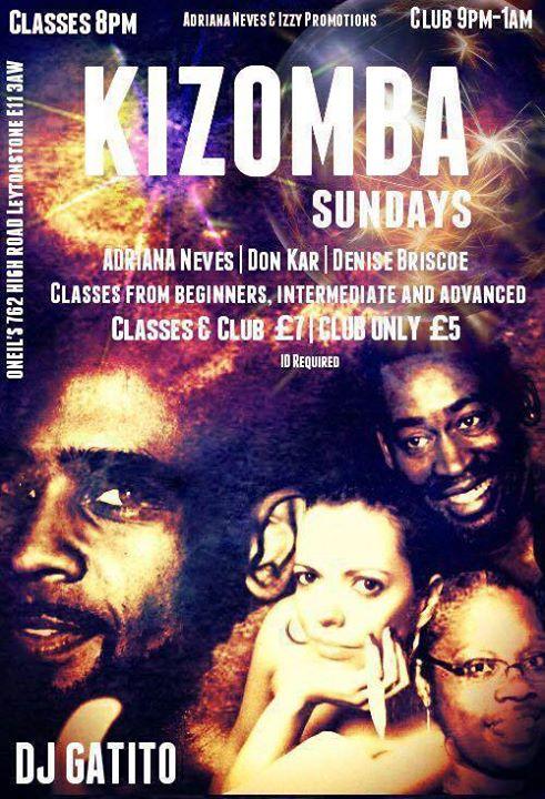 Kizomba Sundays - ONeills