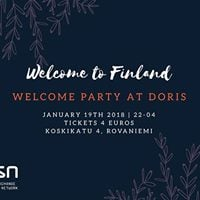 ESN Lapland Welcome Party