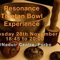 Resonance Tibetan Bowl Meditation Experience Naduir