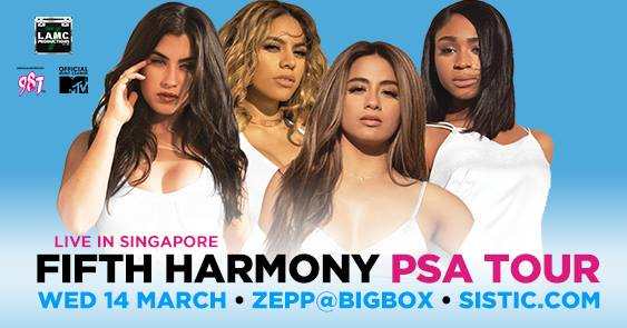 Fifth Harmony - PSA Tour - Live in Singapore