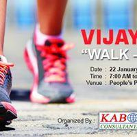 Vijayeebhava - Walkathon - Walk Talk Relax