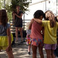 French to Music Sing-along at the Thinkery Baby Bloomers