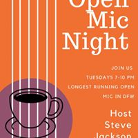 OPEN MIC at Opening Bell (since 2005)