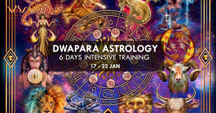 Dwapara Astrology - 6 days Intensive training