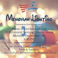 COJOs Annual Public Menorah Lighting