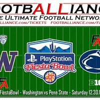 Fiesta Bowl  11 Washington vs 9 Penn State FiestaBowl