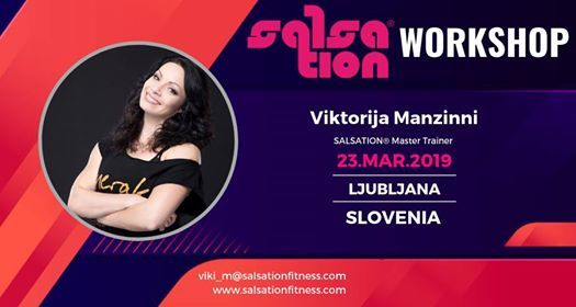 Salsation Workshop with Viktorija Manzinni in Ljubljana Sloveni