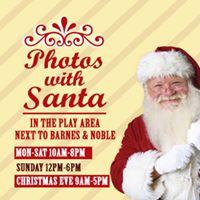 Photos with Santa at Jefferson Pointe