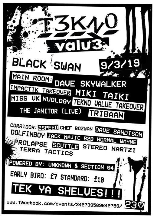 Tekno Value Tek Ya Shelves Black Swan