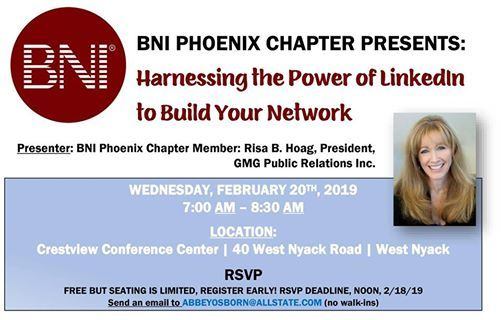 BNI Phoenix Chapter Presents The Power of LinkedIn