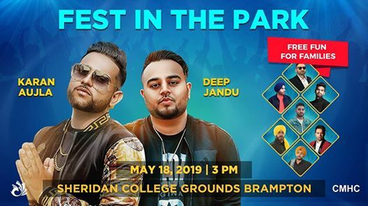 Free Fest In The Park - Karan Aujla Deep Jandu