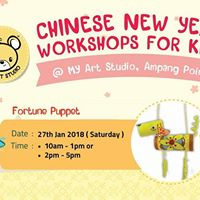 CNY WORKSHOP - Fortune Puppet
