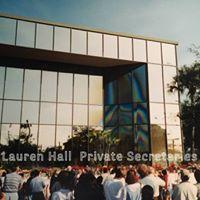 Lauren Hall  Private Secretaries