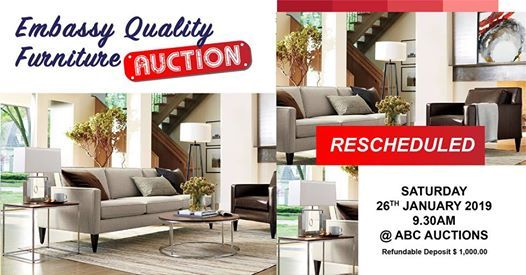 Embassy Quality Furniture Auction