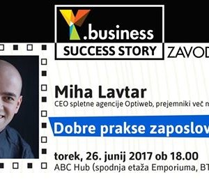 Y.business Success Story Miha Lavtar