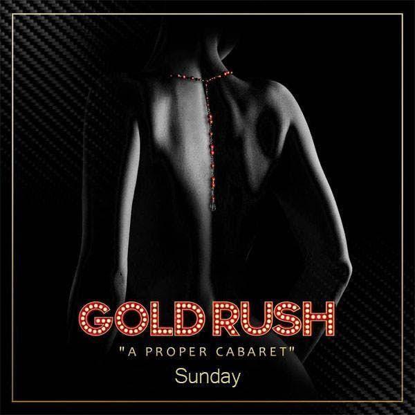 Gold Rush Sundays at Gold Rush Cabaret Guestlist - 6/23/2019