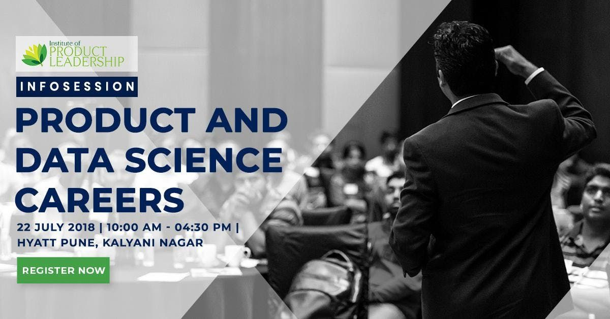 Infosession on Product & Data Science Careers  Pune