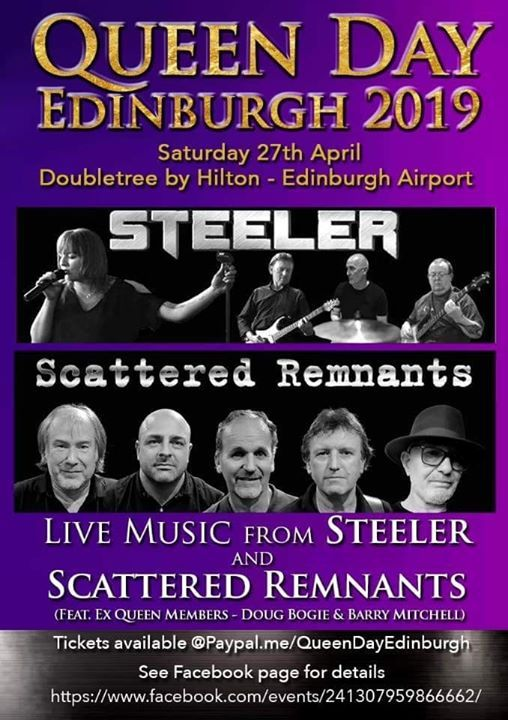 STEELER at Queen Day Edinburgh 2019 | Edinburgh